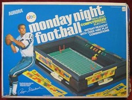 aurora monday night football elecronic board games