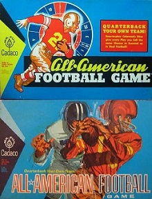 cadaco all american football board games