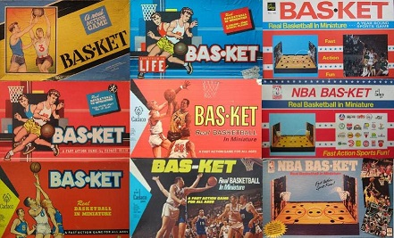 cadaco bas-ket basketball board games