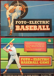 cadaco foto-electric baseball board games