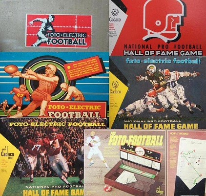 cadaco foto electric football board games