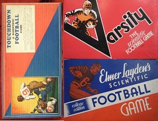 cadaco varsity scientific football board games
