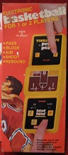 coleco head-to-head basketball handheld electronic game boxed