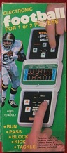 coleco head-to-head football handheld electronic game boxed