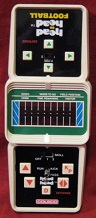coleco head-to-head football handheld electronic game loose