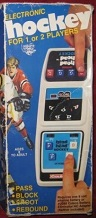 coleco head-to-head hockey handheld electronic game boxed