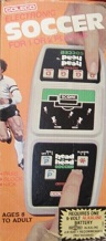 coleco head-to-head soccer handheld electronic game boxed