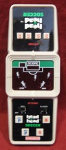 coleco head-to-head soccer handheld electronic game loose
