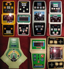 coleco handheld electronic games