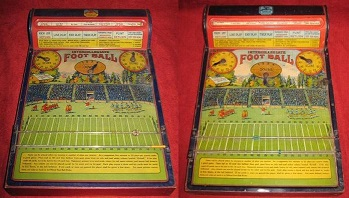 intercollegiate football tin game