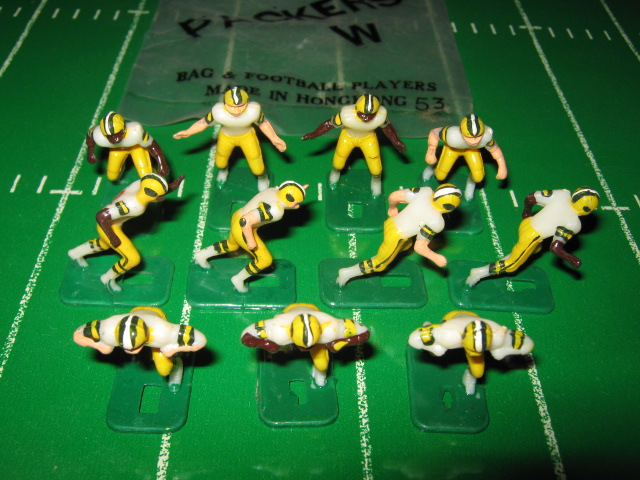 tudor electric football team GREEN BAY PACKERS WHITE JERSEY HK78