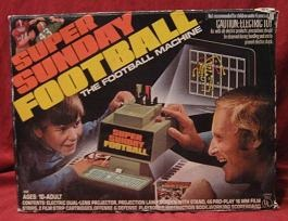 hasbro super sunday electronic football board game