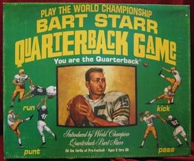 herjac bart star quarterback football board game