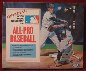 ideal all pro baseball board game