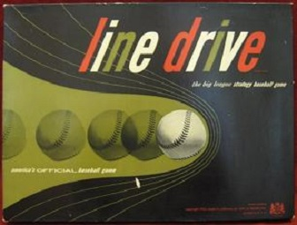 lord and ferber line drive baseball board game