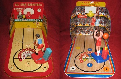 marx all star set shot basketball games