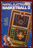 mattel basketball 2 handheld electronic game boxed