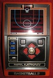 mattel basketball 2 handheld electronic game loose