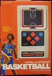 mattel basketball handheld electronic game boxed