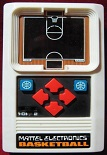 mattel basketball handheld electronic game loose