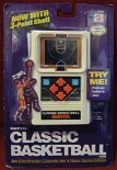mattel classic basketball handheld electronic game boxed