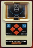 mattel classic basketball handheld electronic game loose