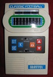 mattel classic football handheld electronic game loose