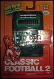 mattel classic football 2 handheld electronic game boxed