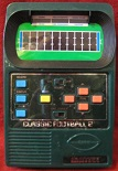 mattel classic football 2 handheld electronic game loose