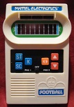 mattel football handheld electronic game loose