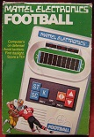 mattel football handheld electronic game boxed