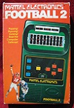 mattel football 2 handheld electronic game boxed