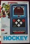 mattel hockey handheld electronic game boxed