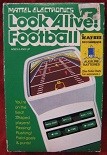 mattel look alive football handheld electronic game boxed
