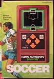 mattel soccer handheld electronic game boxed