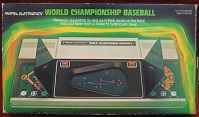Mattel World Championship Baseball handheld electronic game boxed