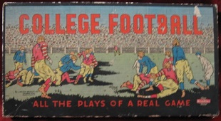 milton bradley college football board game