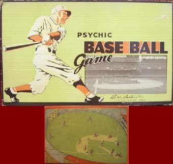 parker brothers psychic baseball games