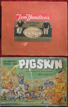 parker brothers pigskin football games