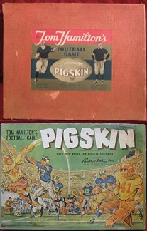 parker brothers pigskin football board game