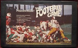 samsonite pro football board game