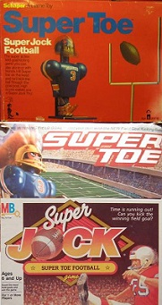 schaper super jock super toe football kicking game