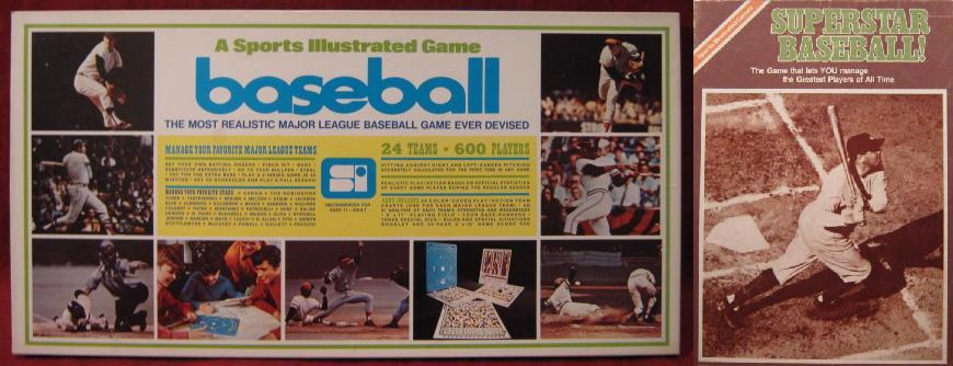 sports illustrated baseball board game