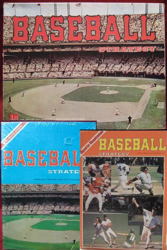 avalon hill baseball strategy board games - sports illustrated