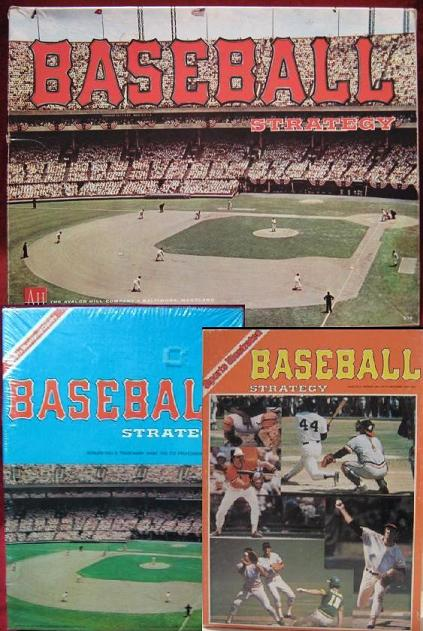 avalon hill baseball strategy board game