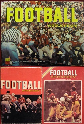 AVALON HILL FOOTBALL STRATEGY GAME