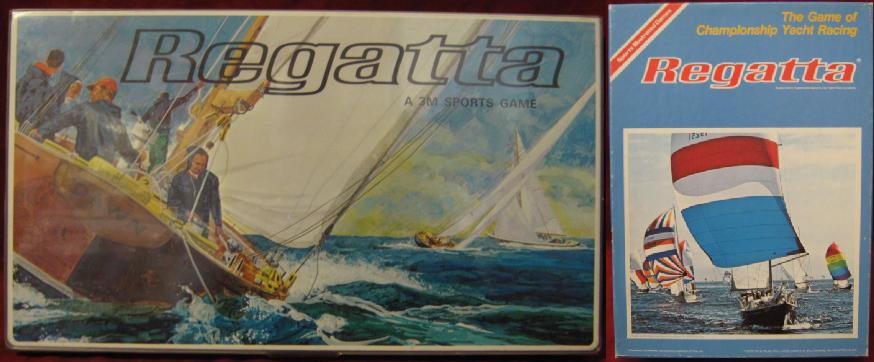 3M REGATTA Yacht Racing Game - sports illustrated - avalon hill
