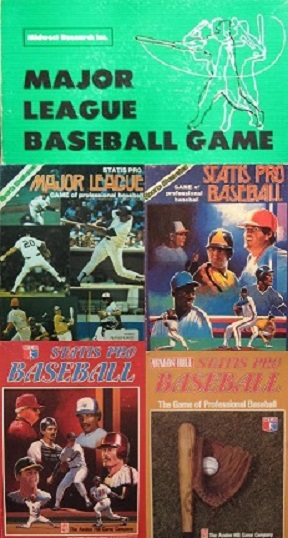 midwest research statis pro baseball board games