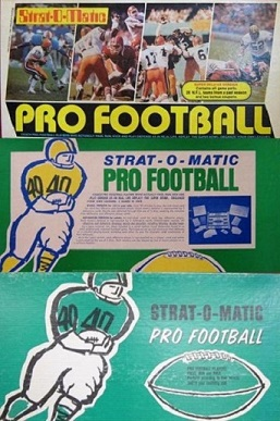 strat-o-matic football game