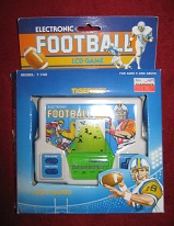 tiger football electronic game loose
